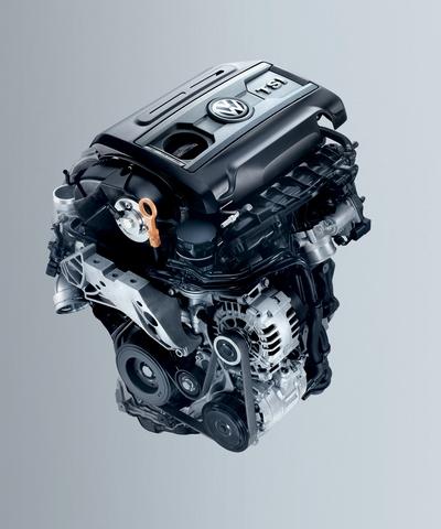 一汽 大众EA111 1.4T汽油发动机高清图片